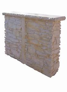 bar en pierre reconstituee pour cuisine dete la pierre With bar exterieur en pierre