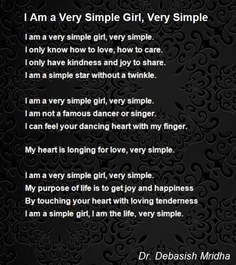 i m a simple girl quotes