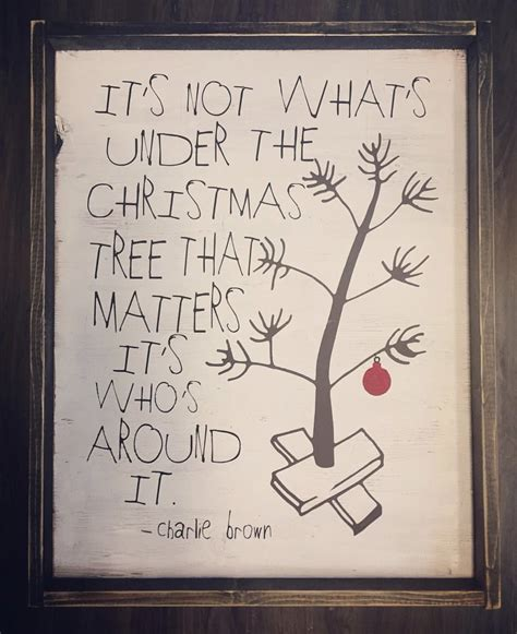 charlie brown christmas its not whats under the tree quote it s not what s the tree brown jaxnblvd