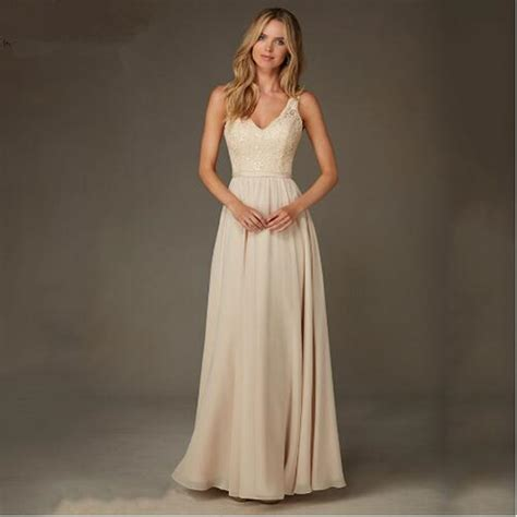 buy wholesale champagne gold bridesmaid dresses