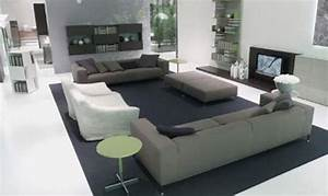 Como decorar una sala moderna for Centro home furniture interior design