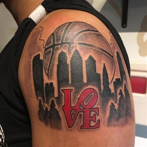 picture  basketball   york tattoo