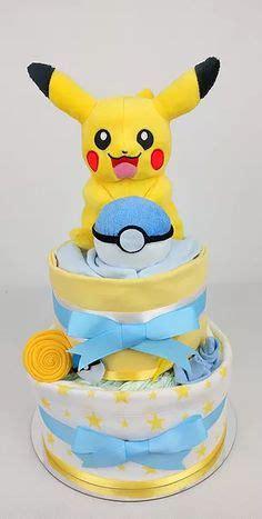 baby showerpokemon pikachu nappy cake   baby girl
