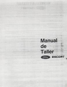 Descargar Manual De Taller Ford Escort    Zofti