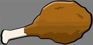 Fried Chicken Leg Clip Art at Clker.com - vector clip art ...