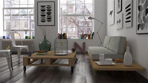 Interior Scene 3d Model Obj Fbx Blend