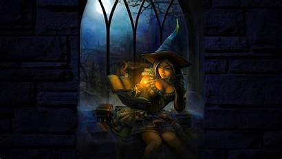 Witch Wallpapers Fantasy 1920