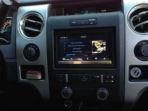 my mods pioneer appradio 3 installed plus badges ford f150 forum community of ford
