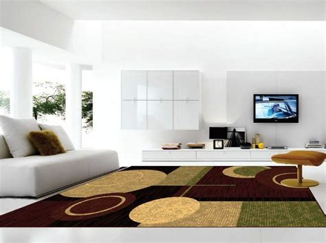 contemporary area rugs  living room size