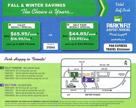 parking coupon for
