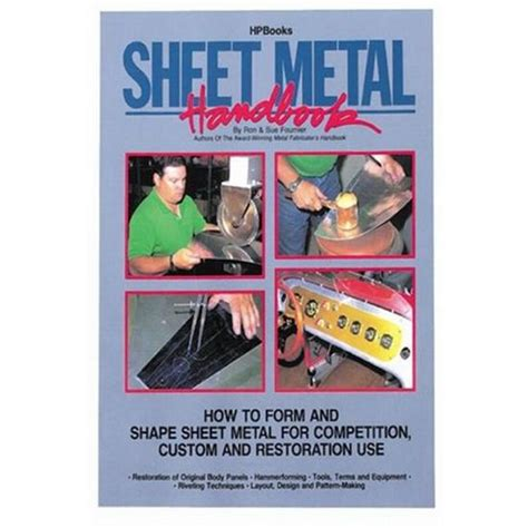 hpbooks sheet metal handbook 141 pages for shaping