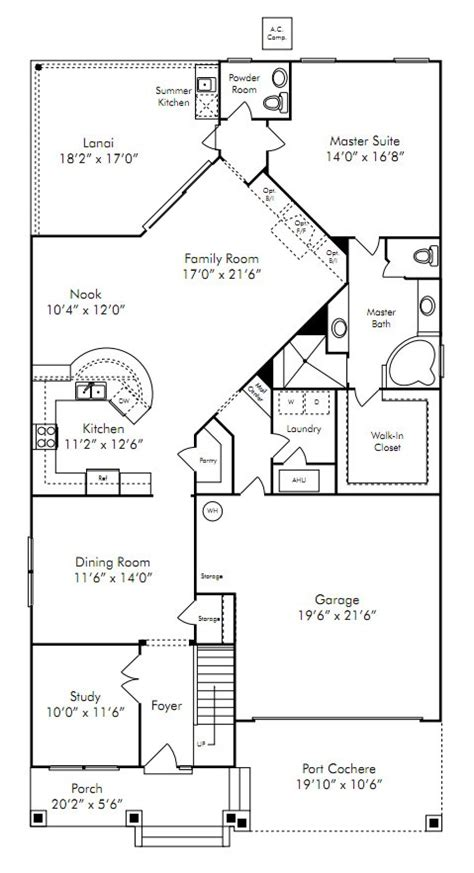 David Weekley Floor Plans 2007 by Rivertown Model Dennis Homes Riverview The Lakes Home By