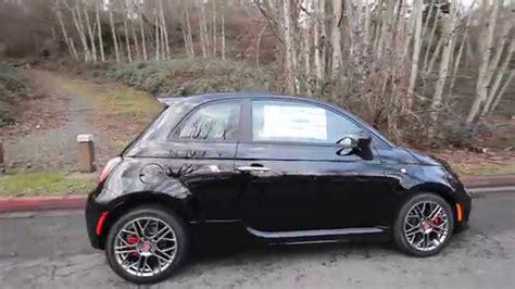 Black Fiat 500 by 2015 Fiat 500 Abarth Black Ft582014 Redmond