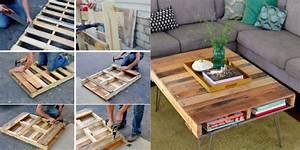 Fabriquer Une Table Basse En Palette : construire une table avec des palettes comment choisir une table basse pour son salon ai teste ~ Melissatoandfro.com Idées de Décoration