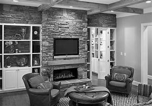 Furniture Fireplace Designs With Tv Above Stone Mantel