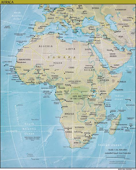maps  africa map library maps   world