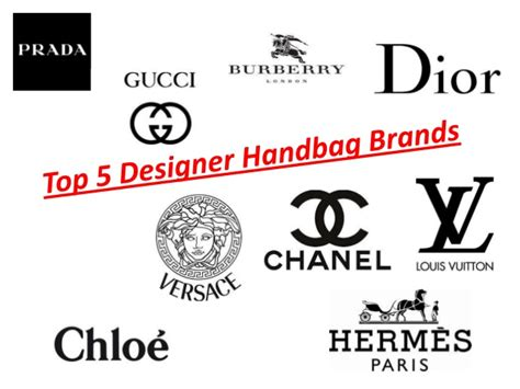 designer brands list top 5 designer handbags brands