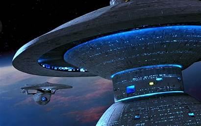 Trek Star Starbase Space Station Wallpapers Excelsior