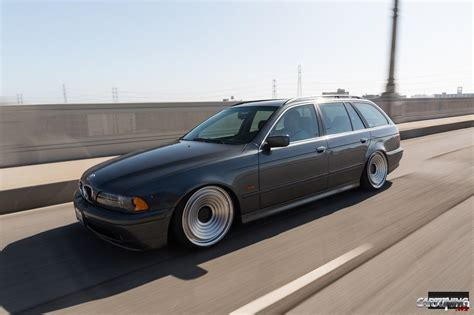 bmw stanced stanced bmw 525i touring e39 cartuning best car tuning