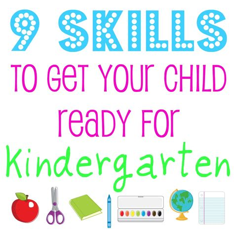 Home Quotes: 9 Skills to Get Your Child Ready for Kindergarten