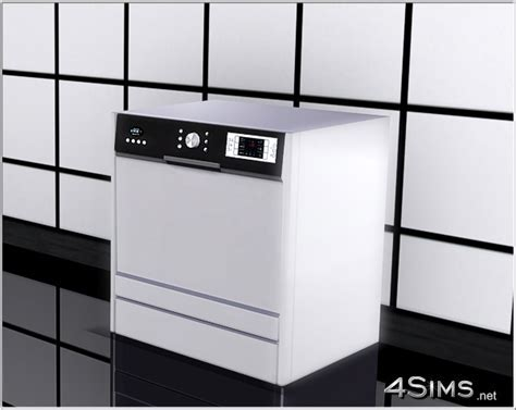 Modern dishwasher for Sims 3   4Sims
