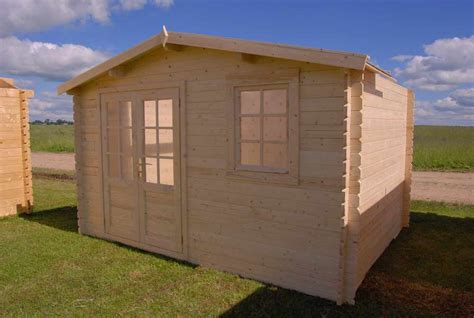 Solid Build Optima 12X12 Wood Shed [Optima328] | Free Shipping
