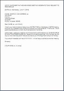 sample letter for rescheduling meeting With reschedule meeting email template
