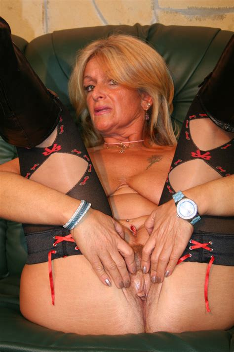 hot gilf sluts around and gets fucked hard
