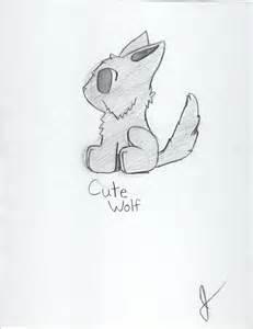 Cute Anime Wolf Drawings