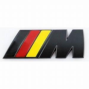 Logo M Bmw : logo bmw motorsport m noir mat achat vente d coration ~ Dallasstarsshop.com Idées de Décoration