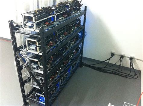 bitcoin mining computer techies building powerful computers to mine for bitcoins