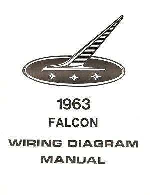 Ford Falcon Wiring Diagram Manual Ebay
