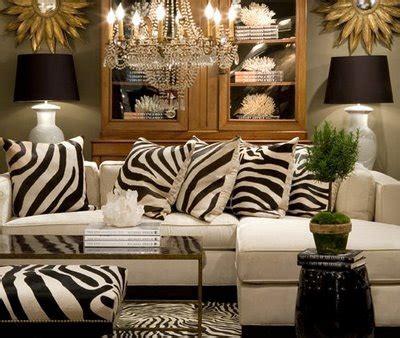 Animal Print Living Room Decorating Ideas  Home Designs