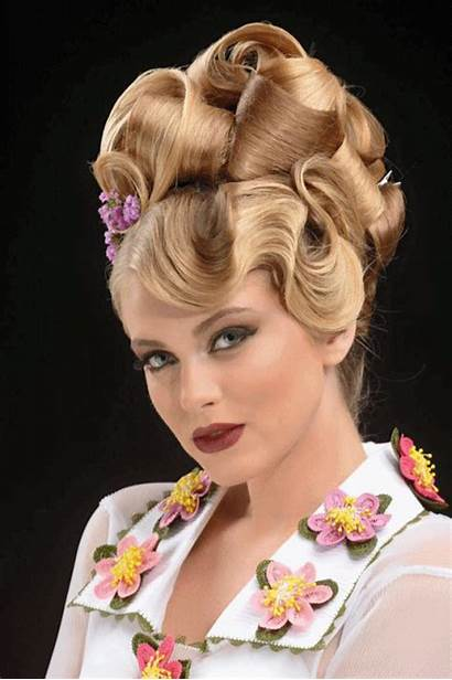 Hairstyles Blonde Evening Updo Beehive Competition Wati