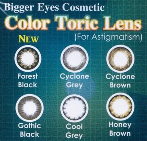 colored toric lenses blincon color toric my contact lens