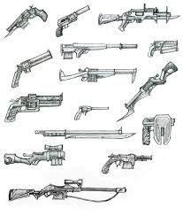 ¿cómo quieres que sea tu pistola? Resultado de imagem para sniper desenho | Dibujos de armas, Diseños de dibujo, Cosas de dibujo
