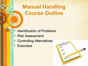 Advanced Manual Handling Course