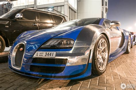 Bugatti has presented a special car, the veyron grand sport vitesse 1 of 1, in pebble beach, california. Bugatti Veyron 16.4 Grand Sport Vitesse Meo Costantini ...