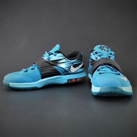 Buy all of your favorite kevin durant basketball shoes for sale at bestshoesbf.com. (2014) Nike KD 7 (GS) Kevin Durant Clearwater Sneakers ...