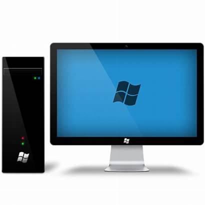 Desk Computer Transparent Background Freeiconspng