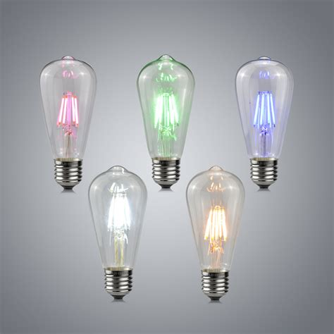 led lamp light vintage design edison filament