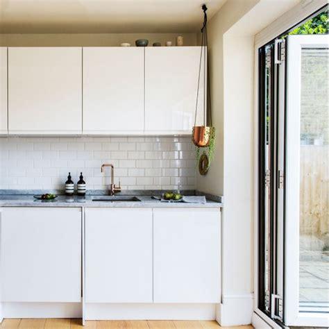 white brick tiles for kitchen modern white kitchen with brick tiles housetohome co uk 1749