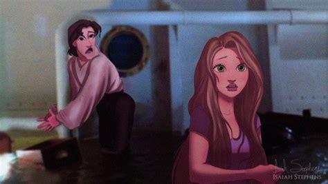 titanic   looked  disney couples starred