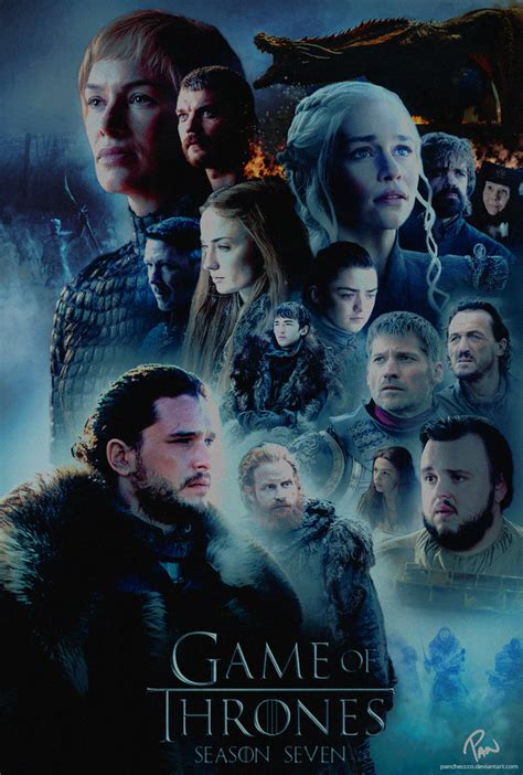 Game Of Thrones | Season 7 Poster by Panchecco on DeviantArt