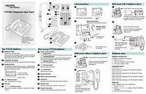 Nortel Networks Cordless Telephone T7316e User U0026 39 S Guide