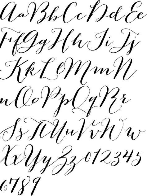 25+ Best Ideas About Calligraphy Alphabet On Pinterest