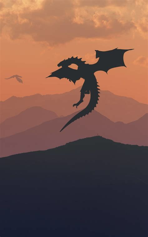 game  thrones dragon minimalist hd  wallpaper