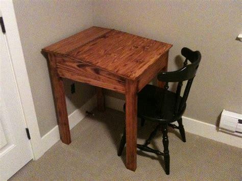 homework desk reclaimed wood work