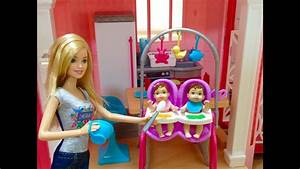 Need A Babysitter Barbie Careers Twin Babysitter Doll And Playset バービー人形