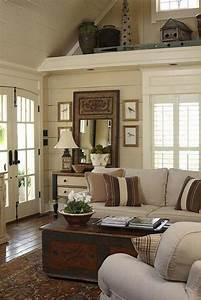 Amazing, Rustic, Farmhouse, Living, Room, Decoration, Ideas, 26